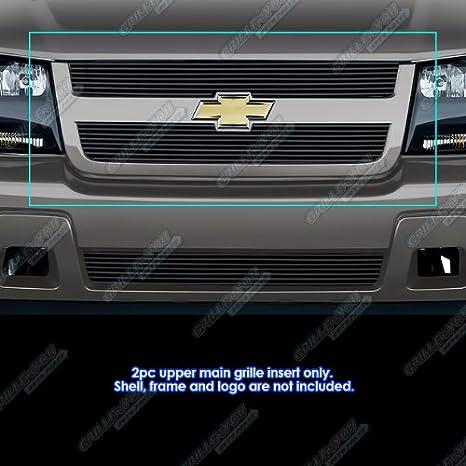 APS Fits 2006-2009 Chevy Trailblazer LT Main Upper Billet Grille Insert #C66465A