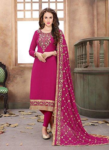 Pink Da Partywear Indian Designer Facioun 5 Ethnic Kameez Salwar Traditonal Women zRRqpxCw7