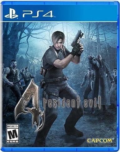 Amazon Com Resident Evil 4 Playstation 4 Standard Edition