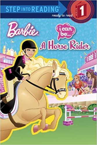 Book I Can Be a Horse Rider (Barbie) (Step into Reading) by Mary Man-Kong (2012-01-10)