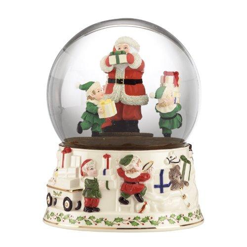 配送員設置 Lenox Lenox B005BQXJJC Holiday Musical Snowglobe Centerpiece Centerpiece B005BQXJJC, 道志村:c871badb --- irlandskayaliteratura.org