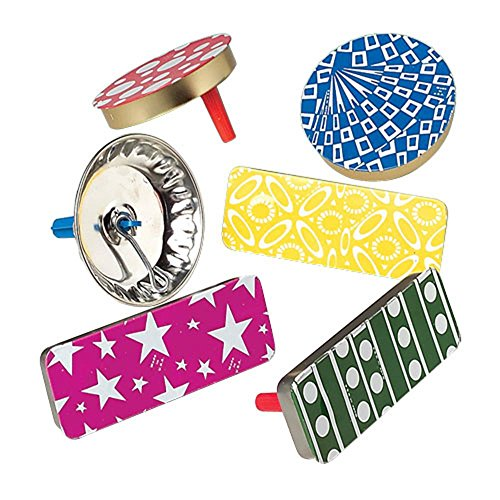 U.S. Toy Assorted Design Metal Party Noisemakers (50) by U.S. Toy