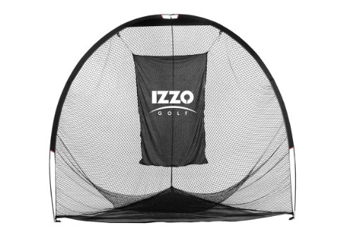 Indoor Net Hitting Golf - Izzo Golf Tri-Daddy Hitting Net