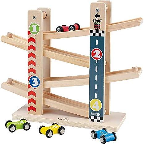 Kinderen Knikkerbaan Speelgoed Auto Racebaan Houten