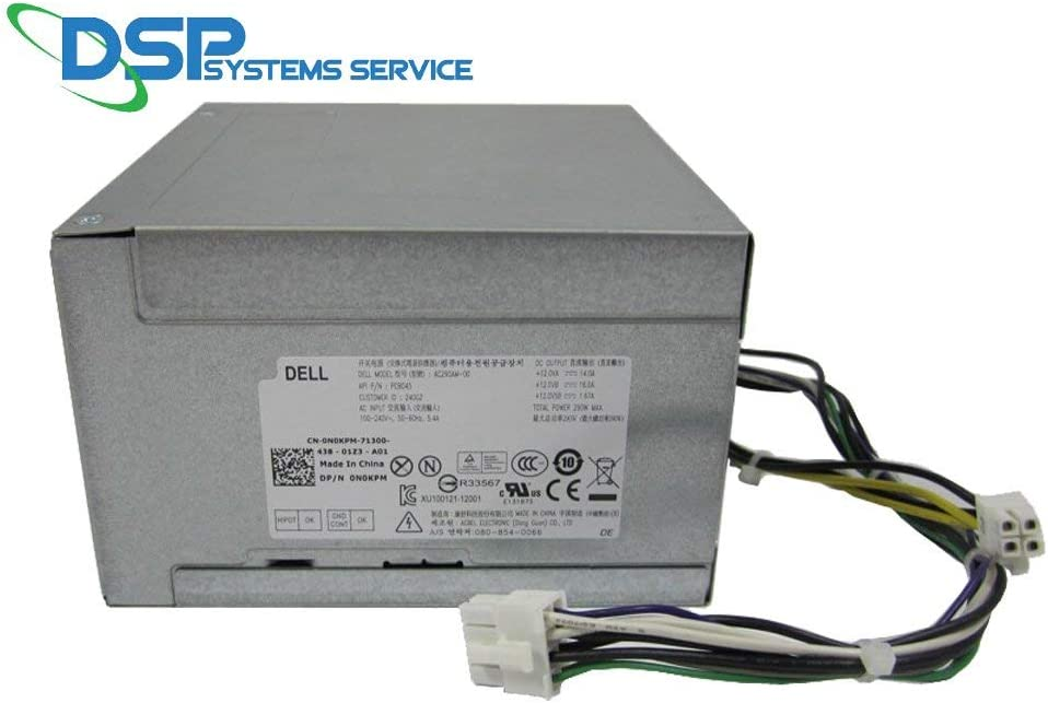 Dell Optiplex 3020 7020 9020 290W ATX Power Supply RVTHD H290AM-00 (Renewed)