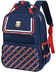 Vbiger School Backpack Student Bookbag Trendy School Bag for Primary School