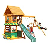 Big Backyard KidKraft Magnolia Cedar Wood Swing Set / Playset F23290