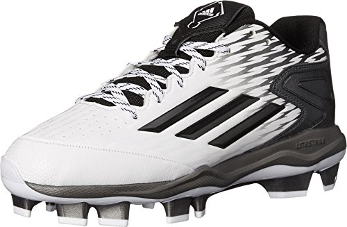 adidas Performance mujer Poweralley 3 W Tpu sófbol cornamusa White/grey Metallic