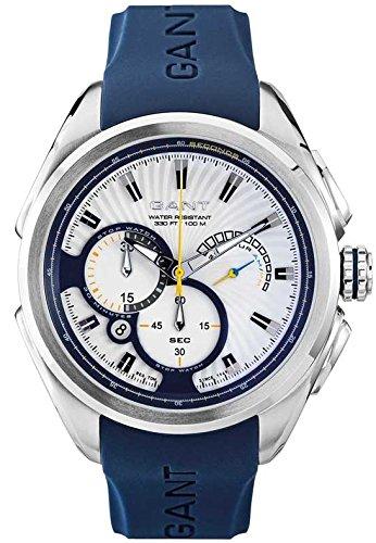 Gant Reloj Análogo clásico para Hombre de Cuarzo con Correa en Caucho W11003: Amazon.es: Relojes