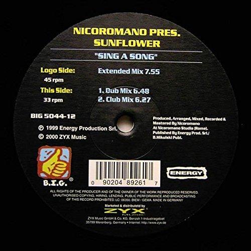 12' Sunflower (Sing a song (#zyx/big5044) / Vinyl Maxi Single [Vinyl 12''])