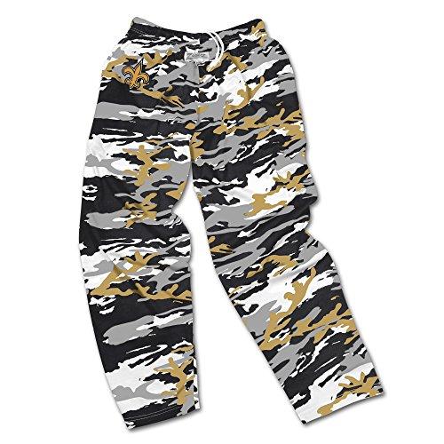 b989af697 Zubaz Men s Officially Licensed NFL Camo Print Team Logo Casual Active Pants