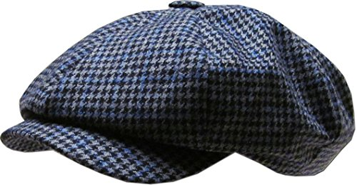 Plaid Oversized Applejack Ascot Ivy Newsboy Hat KBW-320 BLK L XL - Buy  Online in Oman.  2296d178216