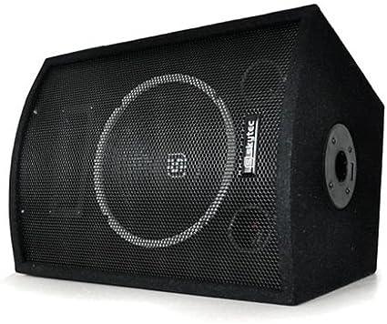 Skytec - Caja acústica pasiva de dos vías, con amplificador, sistema PA, subwoofer de 25 cm, potencia: 500 W máx.: Amazon.es: Electrónica