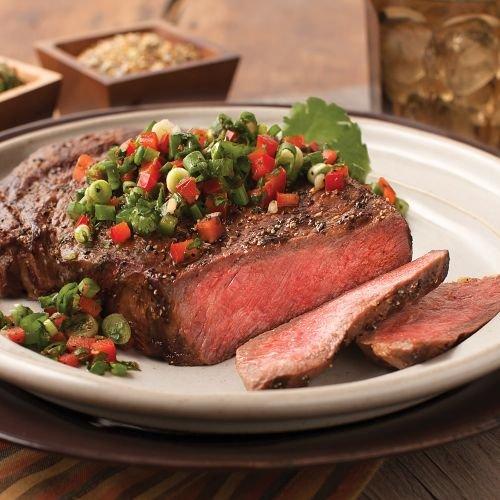 Omaha Steaks 4 (8 oz.) Ribeyes (Like Omaha Steaks)