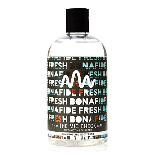 (Bonafide Fresh Bergamot Coriander Scented Body Wash for Men - 12 oz )