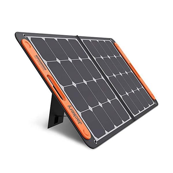 Jackery Faltbares Solarpanel SolarSaga 100 - Solarmodul für Explorer 240/500/1000 Tragbare Powerstation - Solarladegerät…