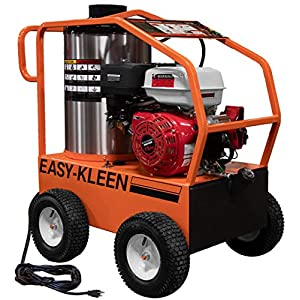 EASY-KLEEN PRESSURE SYSTEMS LTD Commercial 4000 PSI 3.5 GPM Gas Driven Hot Water Pressure Washer Lifan Engine/EK Pump…