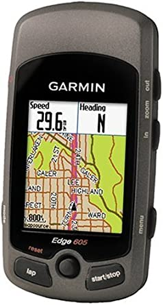 Amazon.com: Garmin Edge 605 resistente al agua ciclismo GPS ...