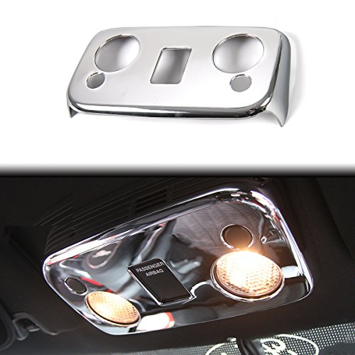 Trim Panel Roof - Car Roof Reading Lamp Cover Reading Light Panel Cover Decoration Trim for Ford Mustang 2015-2017