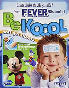 Be Koool Be Koool Soft Gel Sheets For Kids Pack of 3