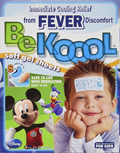 Be Koool Be Koool Soft Gel Sheets For Kids Pack of 3 (Gel Pro Sheet)