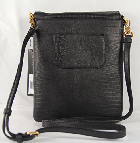 Marc Jacobs Patent Leather Python Shine Tablet Commuter in Black
