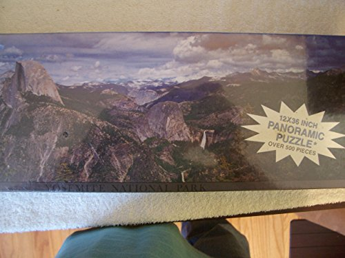 - Yosemite National Park 12x36 Inch Panoramic Puzzle Over 500 Pieces by Impact