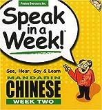 Speak in a Week Mandarin Chinese, Scott Rivera, 1591256607