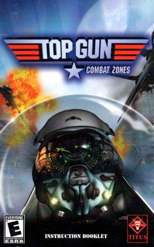 Top Gun Ps2 - Top Gun - Combat Zones PS2 Instruction Booklet (PlayStation 2 Manual Only - NO GAME) [Pamphlet only - NO GAME INCLUDED] Play Station 2