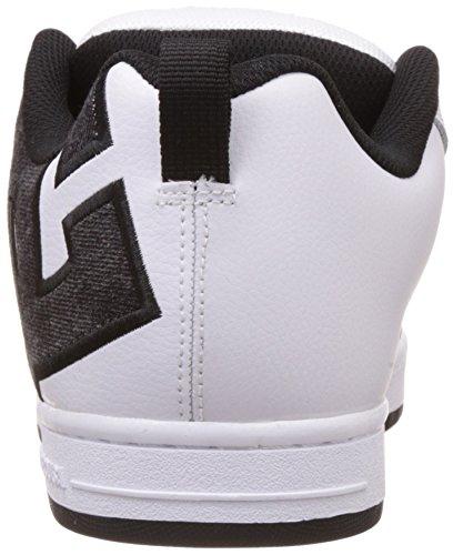DC Shoes Court Graffik SE - Zapatillas para hombre White