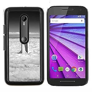 "For Motorola MOTO G3 ( 3nd Generation ) , S-type Naturaleza Hermosa Forrest Verde 137"" - Arte & diseño plástico duro Fundas Cover Cubre Hard Case Cover"