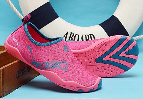 Zapatos De Agua Cior Para Niños Zapatillas De Deporte Aqua Beach Slip-on Y De Secado Rápido Para Niños (niño / Niño Pequeño / Big Kid) J.pink