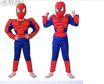 Fancydresswale Superhero Muscle Costume for Kids (3-4 YRS)