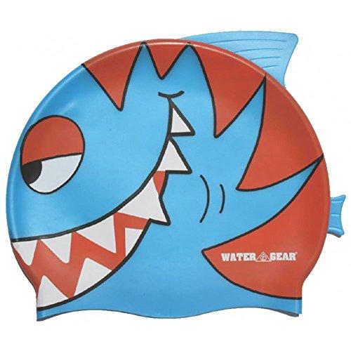 - Water Gear Critter Cap, Blue Piranha