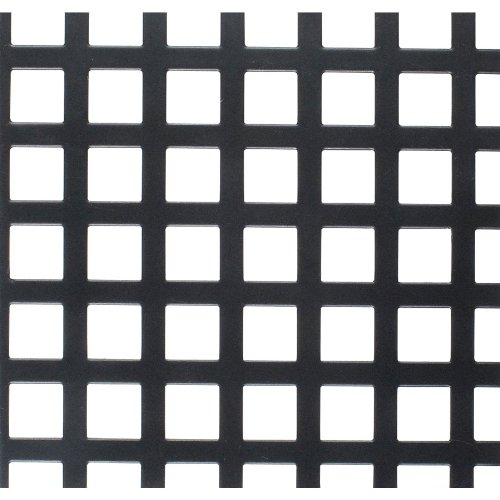 Parts Express Flat Metal Grill Pair 8mm Square Holes - 22'' x 30'' by Parts Express