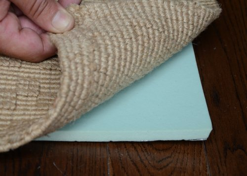 Eco Friendly Rug Pads - 8'x10' Healthier Choice Eco Friendly Green 7/16