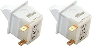 WR23X23343 Refrigerator Light Switch For GE Refrigerator-(2 Pack)