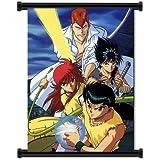 "Yu Yu Hakusho Anime Fabric Wall Scroll Poster (16""x21"") Inches"