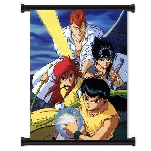 Yusuke Urameshi, Kuwabara, Kurama, Hiei, yu yu hakusho, anime, manga