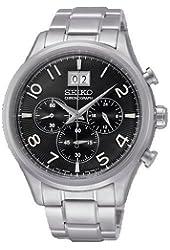 Seiko SPC153P1,Men's Chronograph,Stainless Steel Case & Bracelet 100m WR,SPC153
