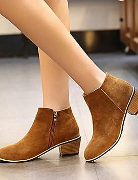 Ch&Ch Zapatos de mujer - Tacón Robusto - Botines - Botas - Vestido / Casual -