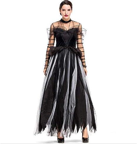 ES Disfraz De Cisne Negro Hada Falda para Mujer Malla Falda Larga ...