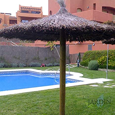Suinga SOMBRILLA JARDIN de BREZO 2 METROS para piscinas ...