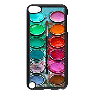 Watercolor Palette Protective Hard PC Back Fits Cover Case for iPod Touch 5, 5G (5th Generation)