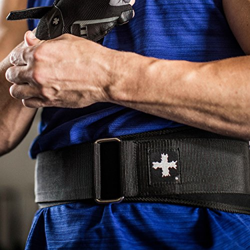 Harbinger Weightlifting Belt with Flexible Ultra light Foam Core, 5 Inch