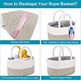 Diaper Caddy Organizer Basket, ABenkle Handmade