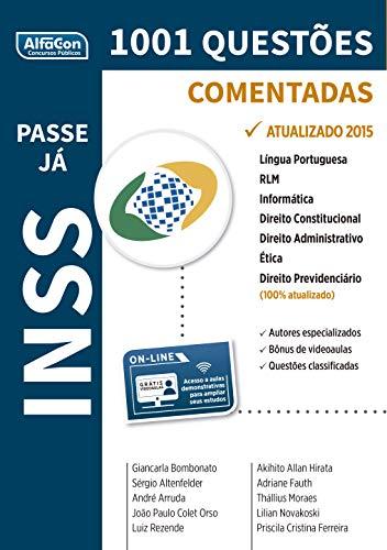 INSS 1 001 Questões Comentadas Coleção