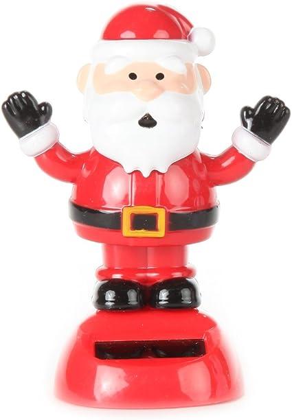 New Solar-Powered Dancing Christmas Santa on Chimney  ~  FREE SHIPPING