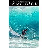 Agenda Escolar 2020 2021 / 300 páginas / Portada : SURF OLA WAVE