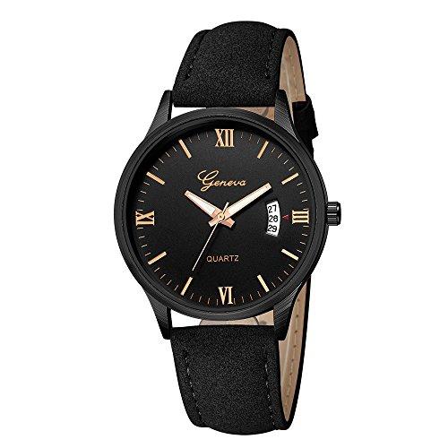 chengzhijianzhu_ Quartz Watches Men's 2019 Newest Ladies Luxury Military Date Stainless Steel Leather Analog Quartz Wrist Watches for Men Teen Girls Boys Ladies by chengzhijianzhu_ Quartz Watches (Image #1)